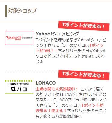 Yahoo!ショッピング・LOHACO